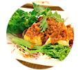 自家製厚揚げの野菜ボロネーゼソース